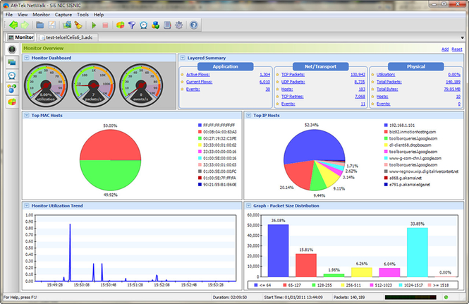 AthTek NetWalk Enterprise Edition Screenshot