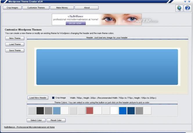 Wordpress Theme Creator Screenshot 2