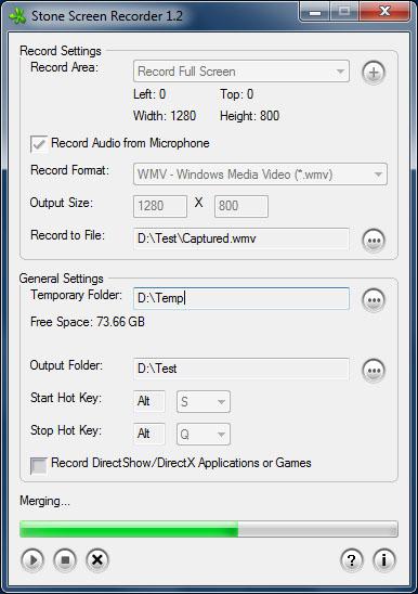 Stone Screen Recorder Screenshot 1