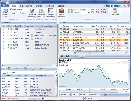 TinyTrader Screenshot 2