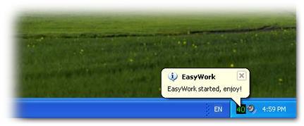 EasyWork Screenshot