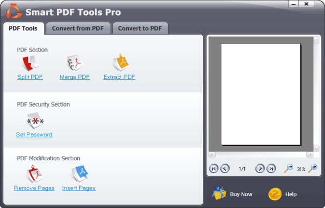 Smart PDF Tools Screenshot