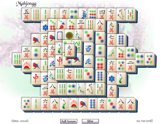 Online Mah Jongg Screenshot 1