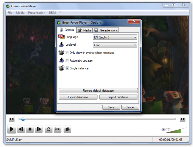 GreenForce-Player Screenshot 4