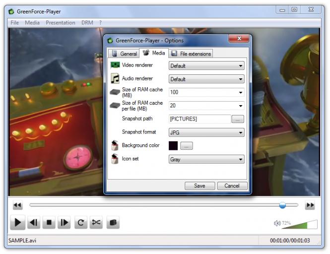 GreenForce-Player Screenshot 5