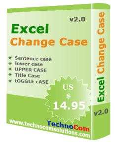Excel Change Case Screenshot 2