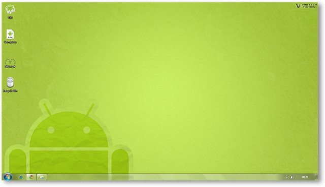 Windows 7 Android Theme Screenshot 4