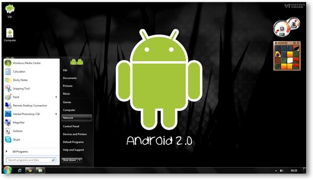 Windows 7 Android Theme Screenshot 5