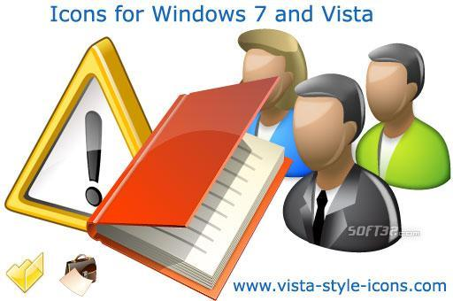 Icons for Windows 7 and Vista Screenshot 3