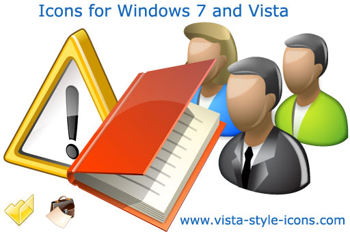 Icons for Windows 7 and Vista Screenshot 1