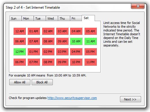 Internet Security Controller Screenshot 4