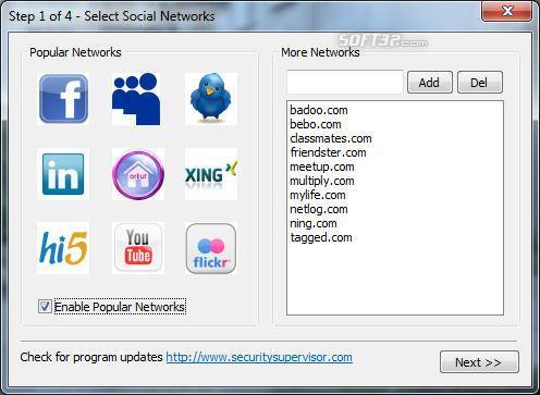 Internet Security Controller Screenshot 3