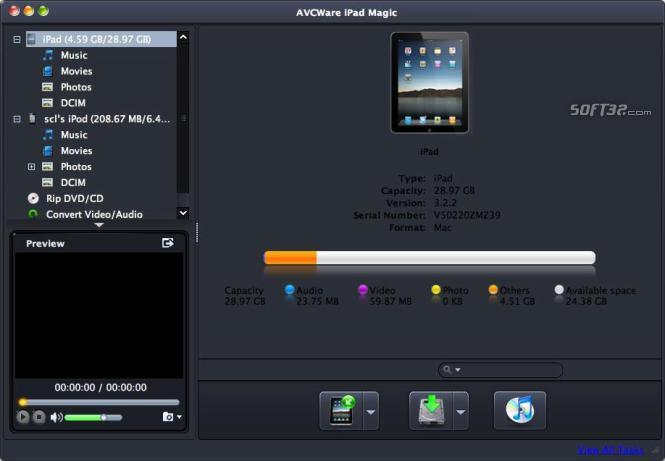 AVCWare iPad Magic for Mac Screenshot 2