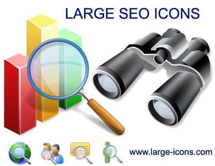 Large SEO Icons Screenshot