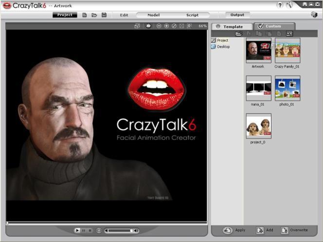 Reallusion CrazyTalk Animator Screenshot 3