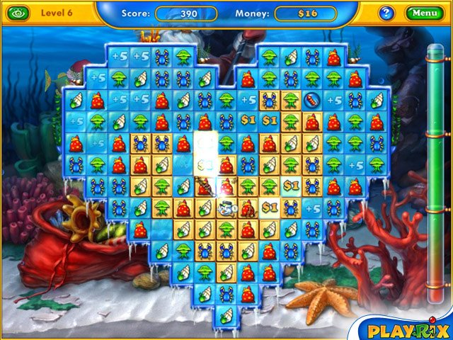 Playrix Fishdom: Frosty Splash Mac Screenshot