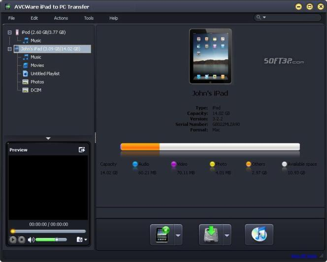 AVCWare iPad to PC Transfer Screenshot 3