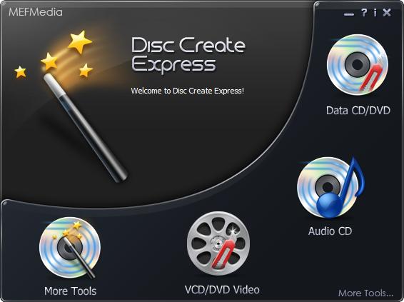 Disc Create Express Screenshot 1