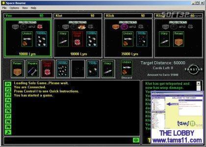 Tams11 Space Bourne Screenshot 2