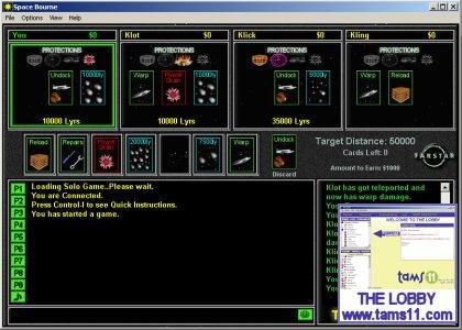 Tams11 Space Bourne Screenshot 1