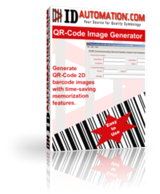 QR Code Image Generator with VCARD Screenshot
