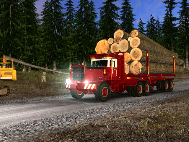 18 Wheels of Steel Extreme Trucker 2 Screenshot 1