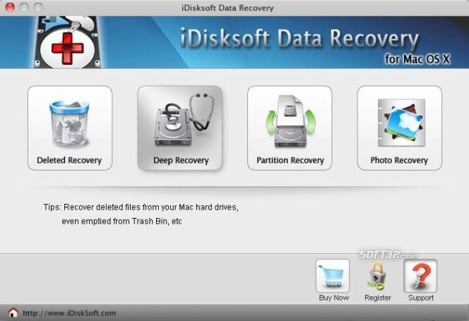 iDisksoft Data Recovery for Mac Screenshot 2