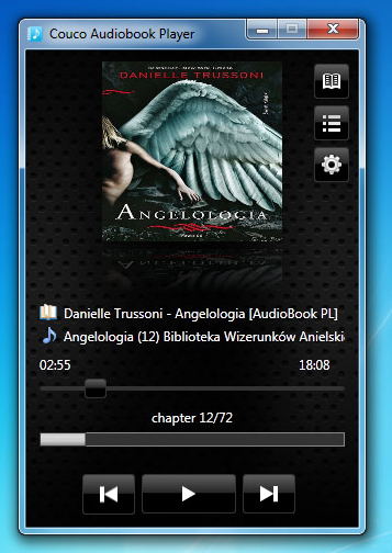 Couco Audiobook Player Screenshot
