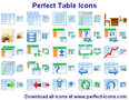 Perfect Table Icons 1