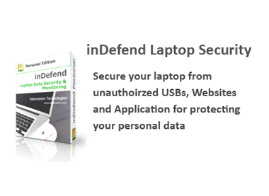 inDefend-Laptop Data Security/Monitoring Screenshot