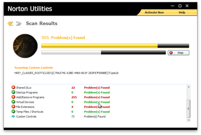 Norton Utilities Screenshot 2