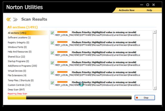 Norton Utilities Screenshot 3