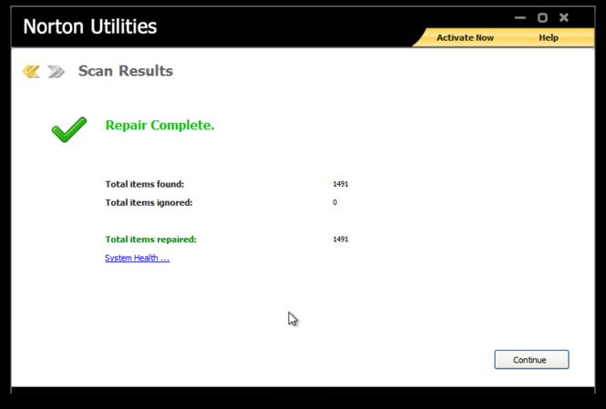 Norton Utilities Screenshot 4