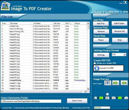 Image To PDF Creator Screenshot 3