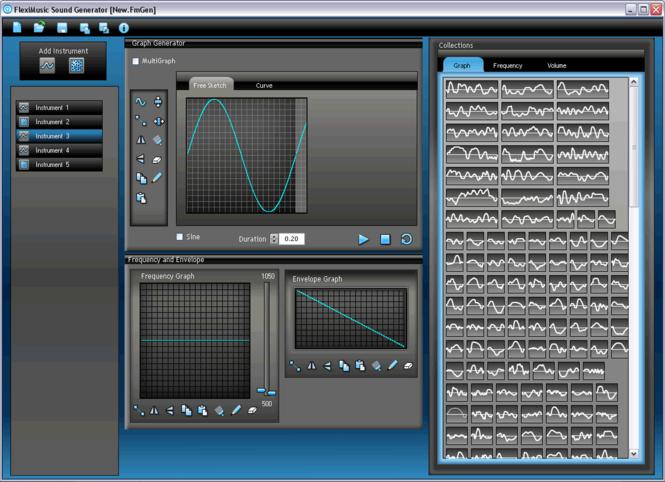 FlexiMusic Sound Generator Screenshot 1