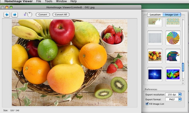 Home Image Viewer Screenshot