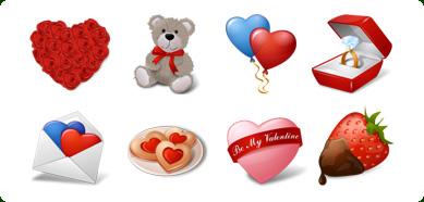 Icons-Land Vista Style Love Icons Set Screenshot 1