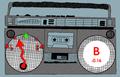 Boombox Guitar Tuner 1
