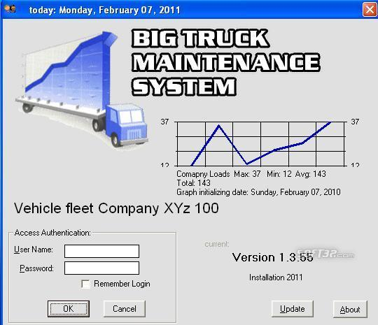 (BTMS) Big Truck Maintenance System Screenshot 4