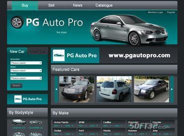 PG Auto Pro Software Screenshot 2
