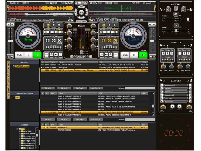 Dj ProMixer Full Screenshot 1