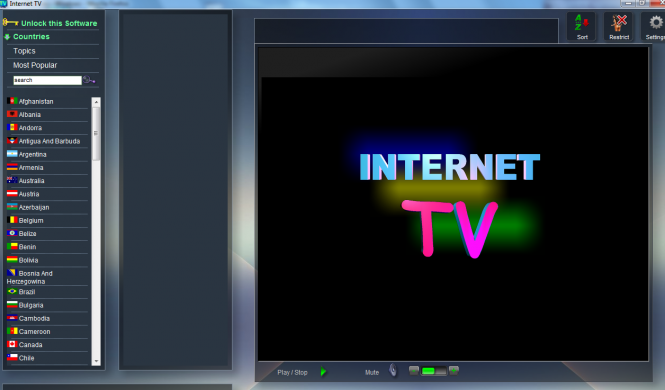 Nice Web TV Pack Screenshot