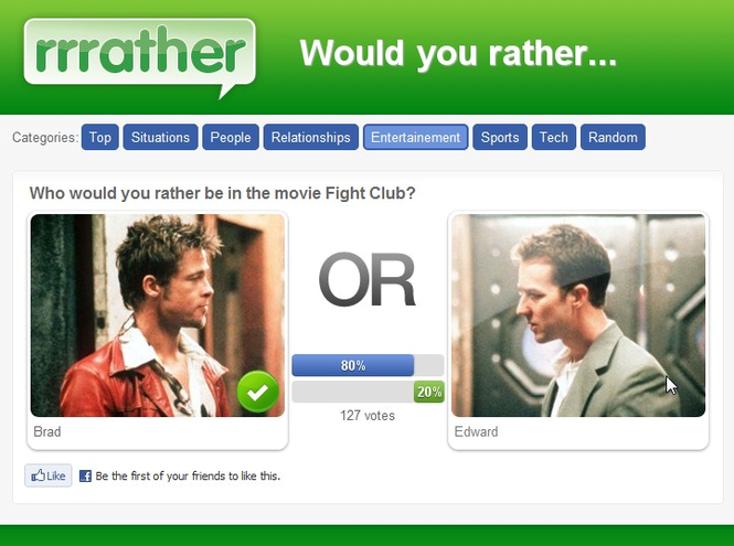 The Would You Rather Game Screenshot 1