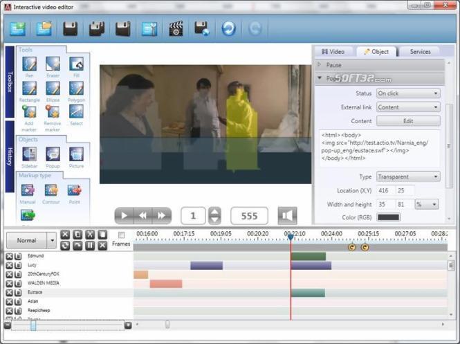 Actio Editor Screenshot 1