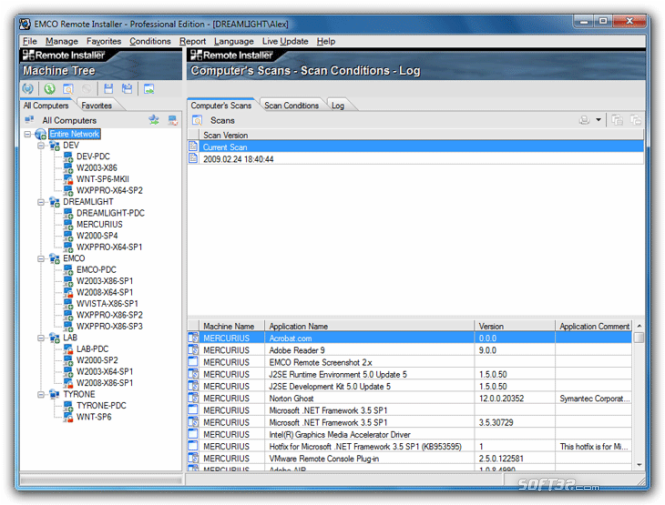 EMCO Remote Installer Professional Screenshot 3