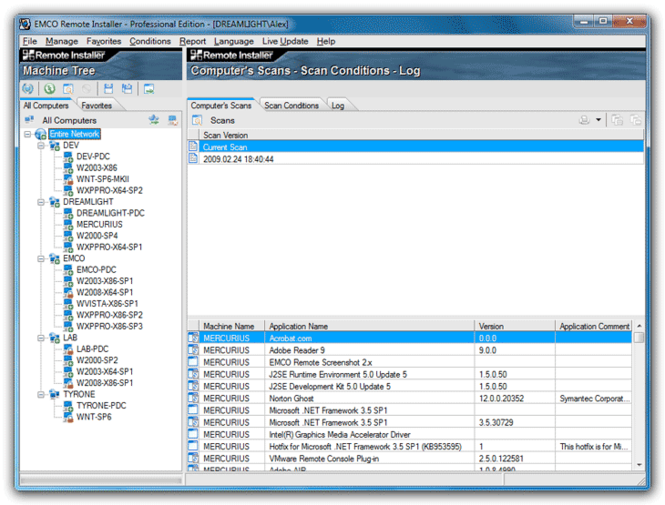 EMCO Remote Installer Professional Screenshot 1