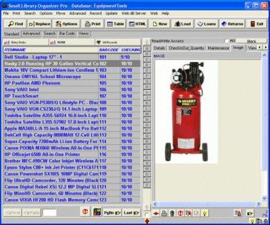 Equipment Tracker Pro Screenshot 1