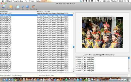 CM Batch Photo Resizer Screenshot 2