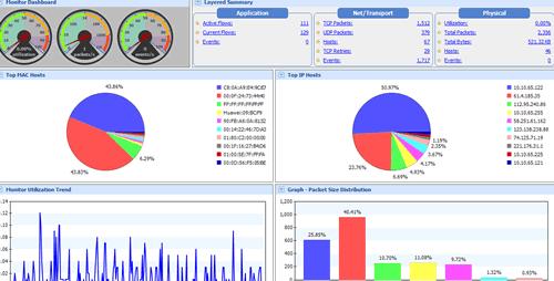 Packet Monitor Screenshot