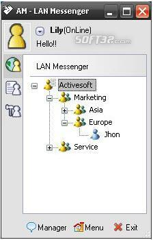 AM LAN Messenger Screenshot 3